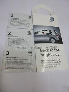 Original VW Spezial Gummipflege für EOS CSC Dach Schiebedach 000 096 331 Cabrio