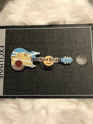 Hard Rock Cafe Edinburgh Gitarre Pin