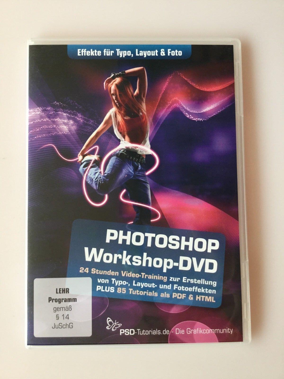 Photoshop-Workshop-DVD - Effekte für Typo, Layout & Foto Stefan Petri