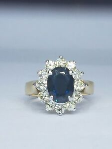 Sapphire and diamond ring Auchenflower Brisbane North West Preview