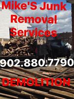 Mike's Junk Removal, Demolitions & Property Clean Ups