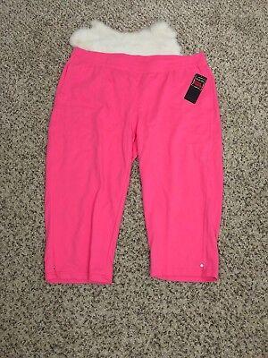 Damen Athletic-hose (Treehearts Damen Sweat Abgeschnitten Athletic Hose Pink Taschen Sz 2 X L21)