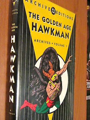 Hawkman Golden Age Archives New Sealed Hardcover Archive Edition Dc Jsa Volume 1