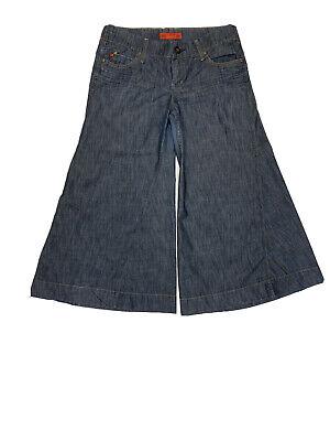 Level 99 Anthropologie Women's Size 32 Flare Leg Bell Bottom Blue Jeans