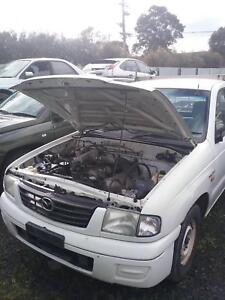 NOW WRECKING MAZDA BRAVO UTE WHITE ALL PARTS 2004 Dandenong South Greater Dandenong Preview