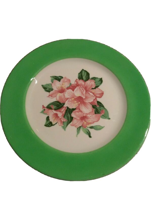 "Greenbrier Resort Hotel Dorothy Draper 8 1/4"" Syracuse China Salad Plate"