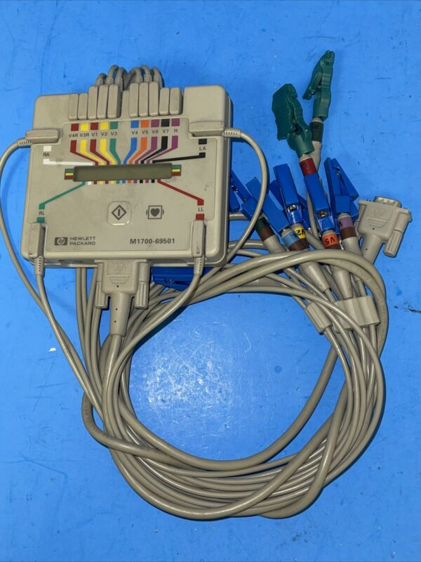 HP M1700-69501 PageWriter Acquisition Module with cables
