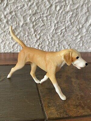 Breyer Dog Blonde Tan Coonhound Hound