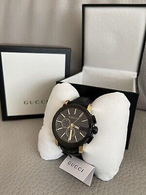 Gucci G-Chrono Mens watch - 44mm - YA101203 - Brand New With Box - RRP £1,200