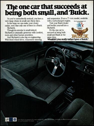 1983 Buick Skyhawk car interior driver
