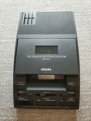Philips 720 Micro Mini Transcriber Recorder Type Lfh 072000