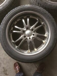 22 Inch Chrome Boss Motorsports Rims
