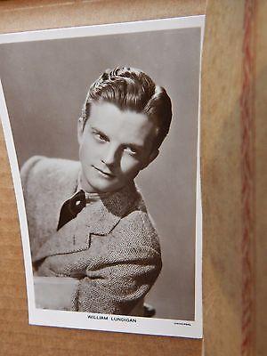 Picturegoer Film Star postcard No 1327 William Lundigan  unposted  .