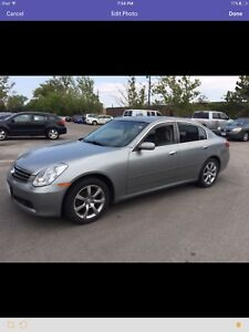CLEAN 2006 INFINITI G35X LUXURY SEDAN