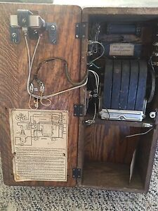 "Antique 1900 telephone ""new lower price"""
