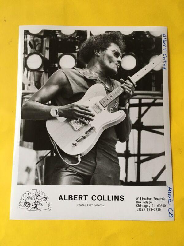 "Albert Collins Press Photo 8x10"", See Photos."