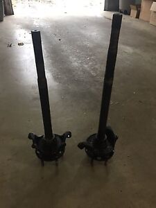 "Chevy rear brake/axles - Ford 9"" rear end"