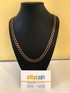 9ct 60.5cm Solid Gold Chain Adelaide CBD Adelaide City Preview