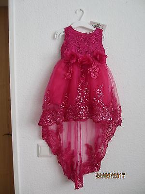 Abendkleid, Hochzeitskleid Für Kinder 5 Jahr