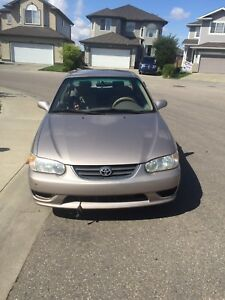 2001 Toyota Corolla LE car for sale,price reduce 2600$