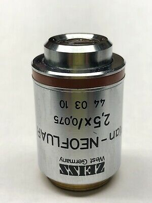 Zeiss Plan Neofluar 2.5x0.075 Microscope Objective Rms Part 440310