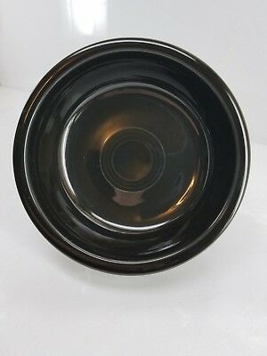 19OZ medium SOUP CEREAL BOWL black FIESTAWARE FIESTA