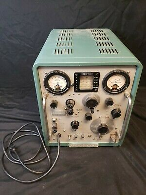 Vintage Hp 608d Vhf Signal Generator Hewlett Packard Ham Radio Test Equipment