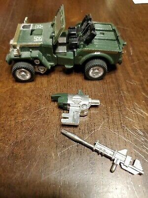 Transformers G1 Hound With Weapons