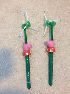 Peppa Pig- Flash LED Windmill - $20 for Both