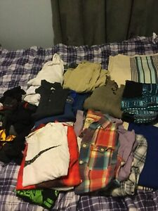 Various clothing - men's small and medium