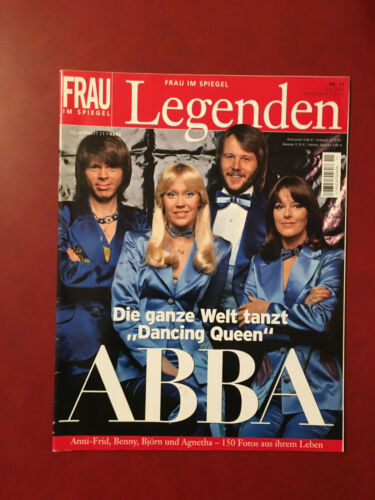 ABBA magazine Frau im SPIEGEL LEGENDEN 2006 issue 100 pages incl cover Germany