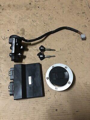 Suzuki Gsxr 600 K6 K7 Ecu Ignition Barrel Fuel Cap 2 Keys