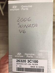 Oil filter - 2006 Hyundai Sonata