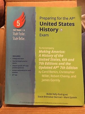 Preparing For The AP United States History Exam Study Guide ISBN (United States History Preparing For The Ap Exam)