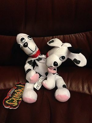 NWT 1997 Meanies Series 1 Fi-Do Dalmutation Fido Dalmatian Mutant Dog Monster