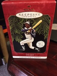 Hank Aaron Ornament