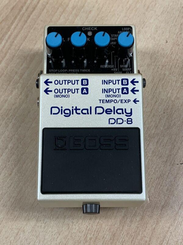 Boss DD-8 Digital Delay Guitar Effects Pedal