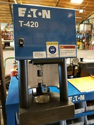 Hydraulic Hose Machine Eaton Weatherhead T-420 Brand New