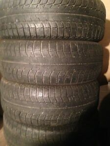 4-225/55R17 Michelin winter tires
