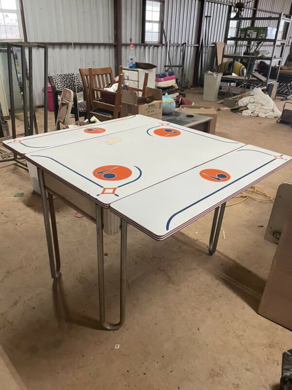Antique Enamel Table