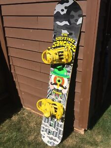 Salomon Snowboard + Bindings