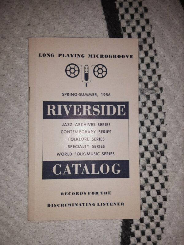 Riverside Records Jazz Catalog 1956