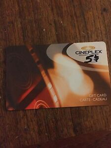 Cineplex Giftcard