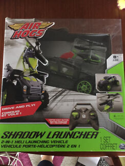 Helicopter remote control car shadow Lancher air hog toy xmas bargain