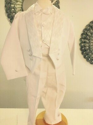 Baby Boy Communion Christening Baptism Outfit Suit, Presentacion, Set 0,1,2,3,4 (Baby Boy Baptism)