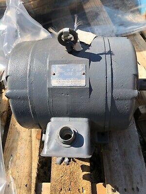 General Electric 15hp 254t Frame