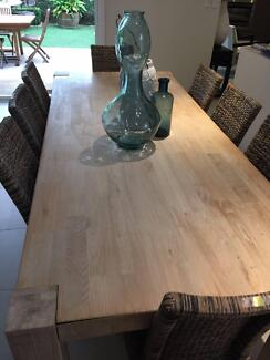 8 seat Timber Dining Table