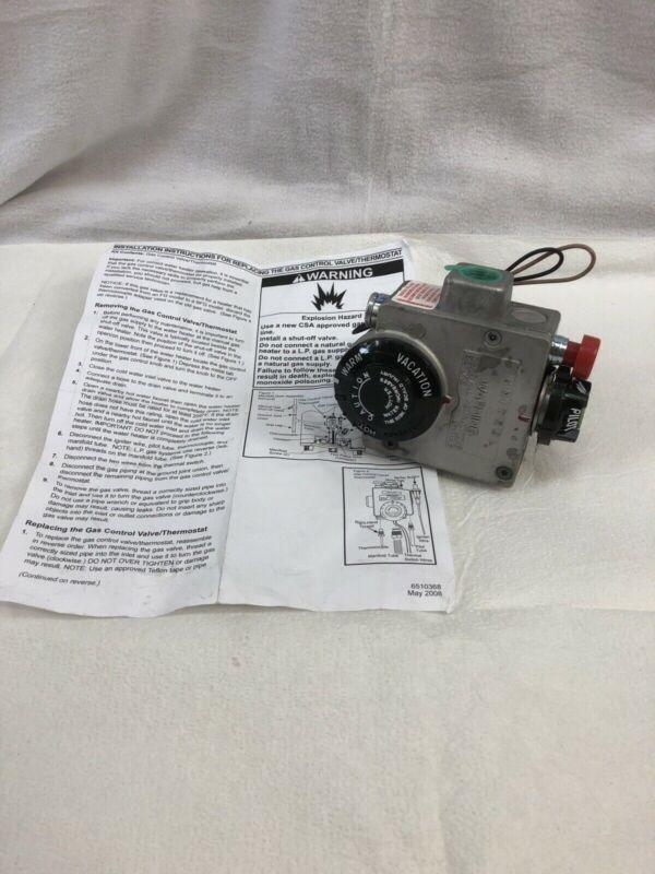 Robertshaw Water Heater Gas Control Valve/Thermostat 64-4G8-376