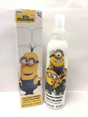 MINIONS COOL COLOGNE  BY MINIONS 6.8 oz BODY SPRAY FOR BOYS. - Minions Minions