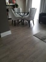 Hardwood, laminate and vinyl flooring installation